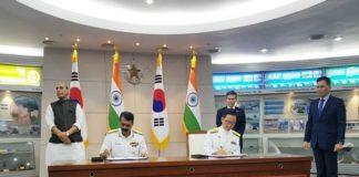 दक्षिण कोरिया और भारत
