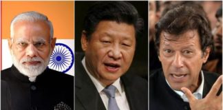 india, china and pakistan