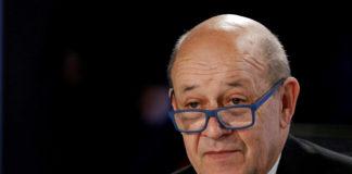 फ्रांस के विदेश मंत्री