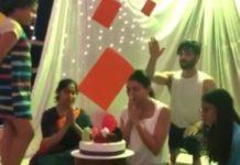 सुष्मिता सेन के जन्मदिन पर प्रेमी रोहमन शॉल ने रखी सरप्राइज पार्टी, देखे विडियो