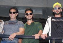 सलमान खान के साथ नजर आये आयुष शर्मा और जहीर इकबाल, देखिये तसवीरें