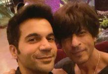 जब शाहरुख़ खान ने दोहराया अपने फैन और अभिनेता राजकुमार राव का डायलाग, देखे वीडियो