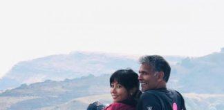 मिलिंद सोमन ने साझा की एक पुरानी तस्वीर, पत्नी ने पूछा-'फिर से शादी करोगे?'