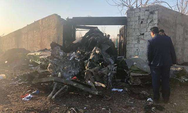 यूक्रेन के विमान दुर्घटना को लेकर कई लोग गिरफ्तार : ईरानी अधिकारी
