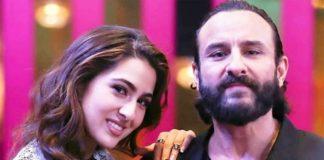 "Saif ali khan's reaction on his daughters upcoming movie ""aaj kal"""